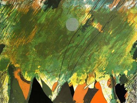 Lithographie Guinovart - Petit cercle