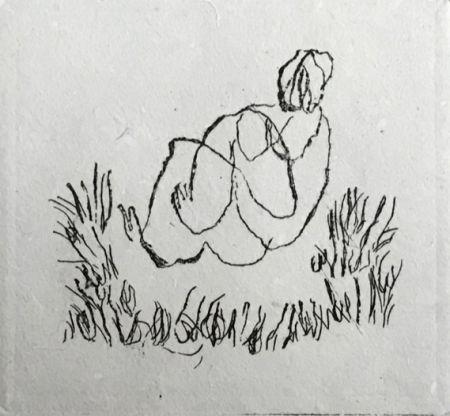 Eau-Forte Fautrier - Petit Nu A