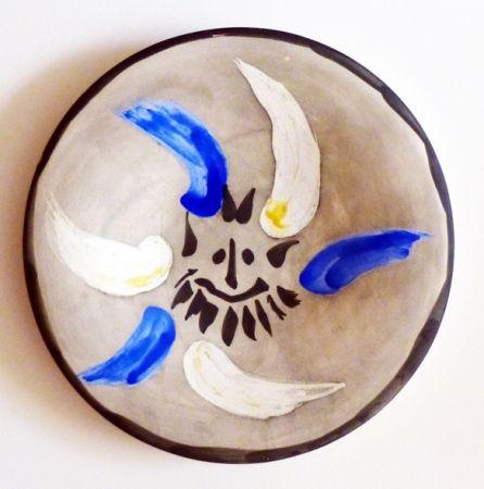 Céramique Picasso - Petit visage 12