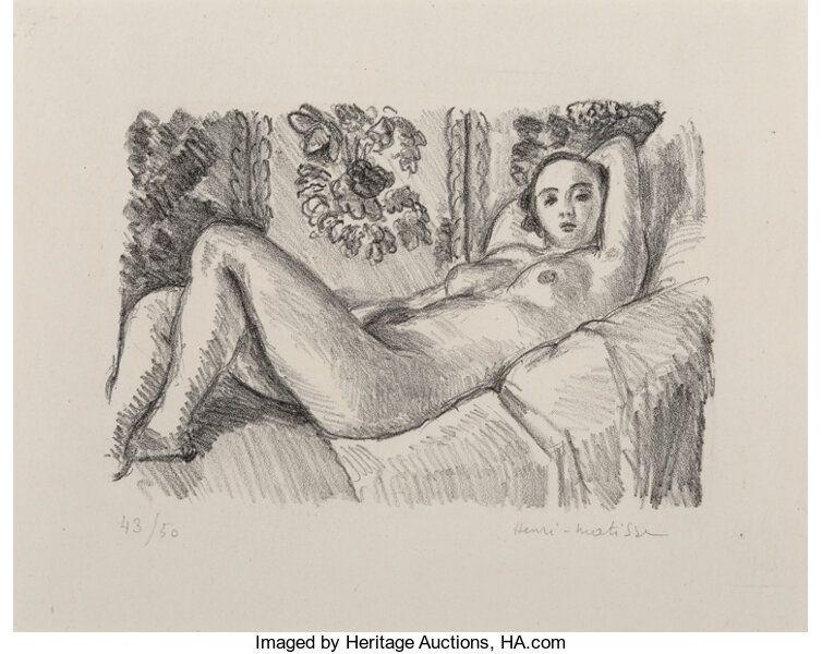 Lithographie Matisse - Petite Aurore