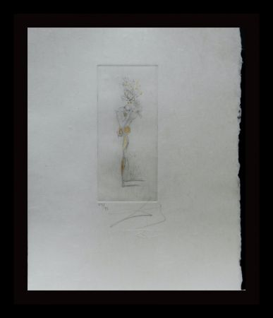 Gravure Dali - Petite Nus (From Appolinaire) D