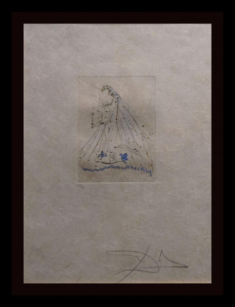 Gravure Dali - Petites Nus (Ronsard) A
