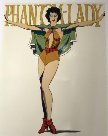 Sérigraphie Ramos - Phantom Lady