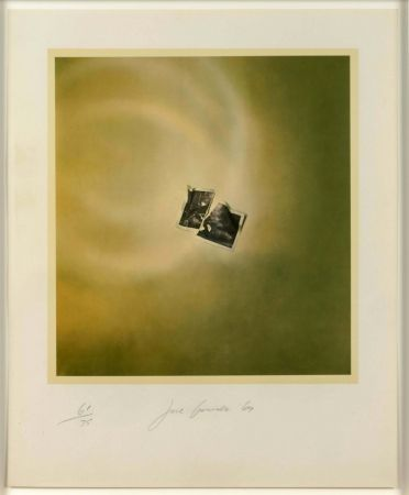 Lithographie Goode - Photo Cloud (Green)