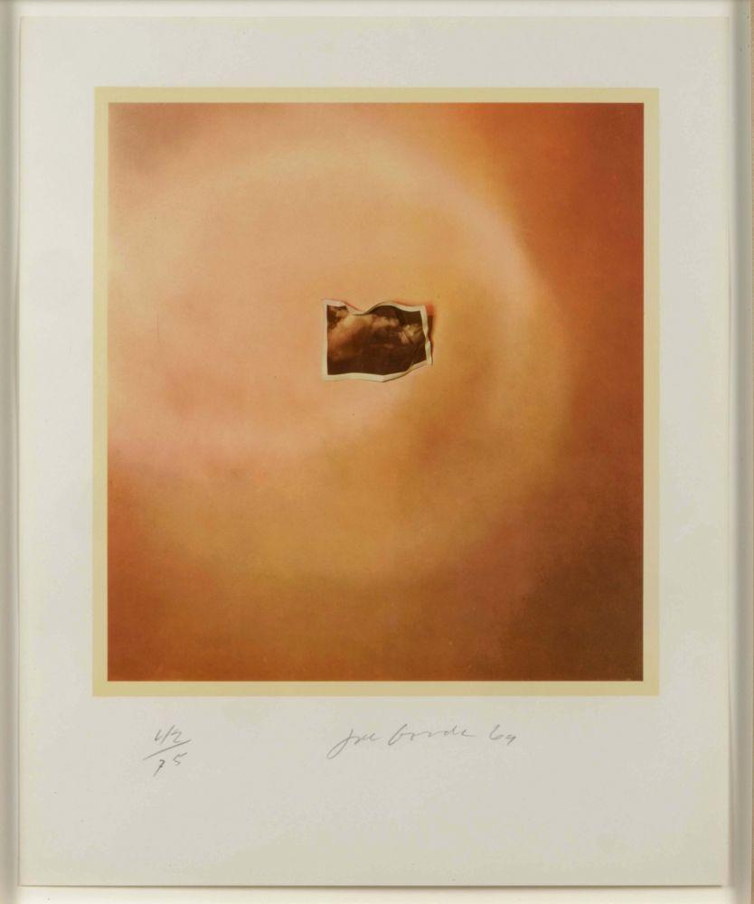 Lithographie Goode - Photo Cloud (Orange)