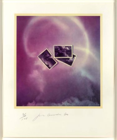 Lithographie Goode - Photo Cloud (Purple)