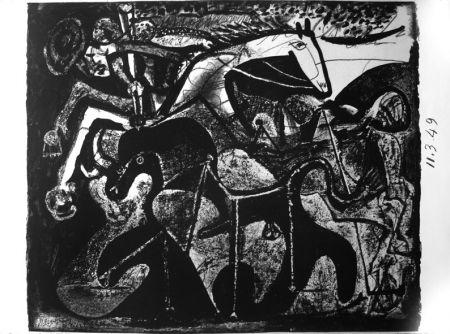 Lithographie Picasso - Picador