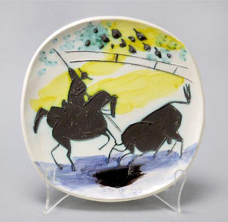 Céramique Picasso - Picador and Bull, 1953