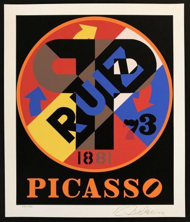 Sérigraphie Indiana - Picasso