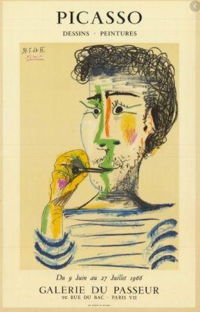 Lithographie Picasso - Picasso - Dessins - Peintures