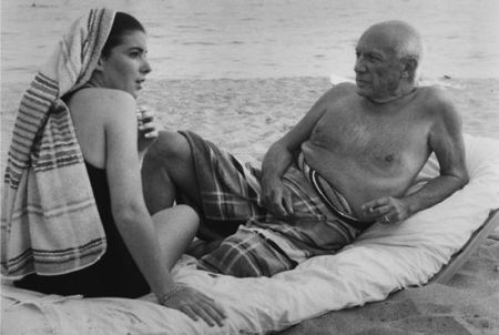 Photographie Clergue - PICASSO AND CATHY