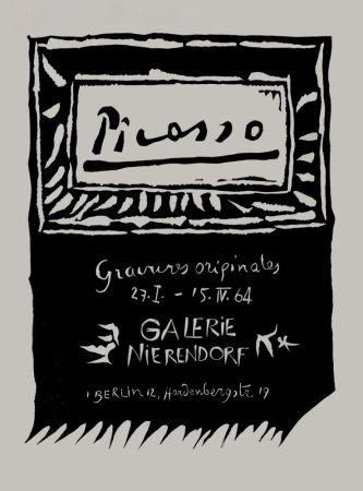 Linogravure Picasso - Picasso Gravures originales