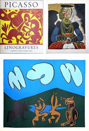 Livre Illustré Picasso - PICASSO LINOGRAVURES. (Picasso Linocuts). 1962.