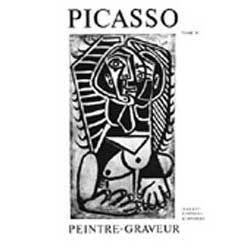 Livre Illustré Picasso -  Picasso Peintre-Graveur. Tome IV. Catalogue raisonné de l'oeuvre gravé et lithographié et des monotypes. 1946 - 1958.