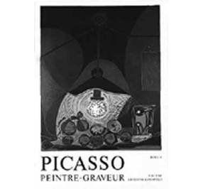 Livre Illustré Picasso -  Picasso Peintre-Graveur. Tome V. Catalogue raisonné de l'oeuvre gravé et lithographié et des monotypes. 1959 - 1965.