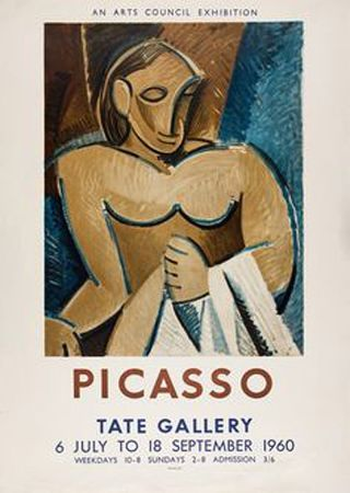 Lithographie Picasso - Picasso Tate Gallery 1960