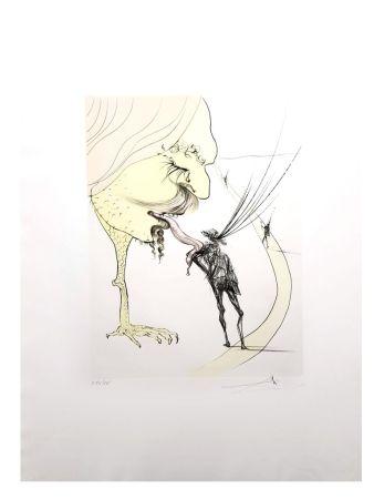 Lithographie Dali - Picasso: Un Billet pour la Gloire