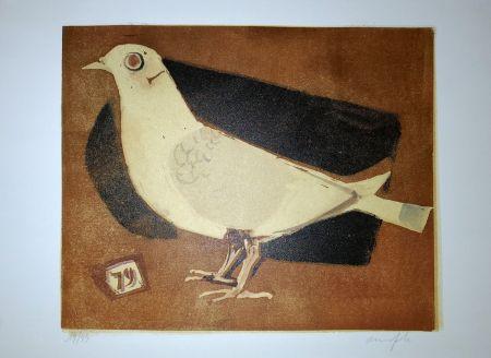 Linogravure Manfredi - Piccione