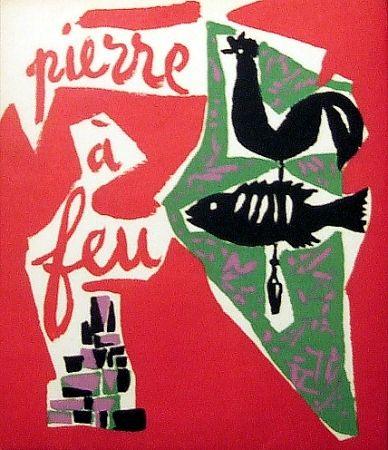 Livre Illustré Marchand - Pierre à feu. Provence noire