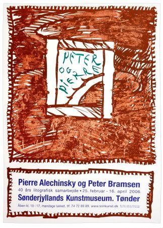 Affiche Alechinsky - Pierre Alechinsky og Peter Bramsen, Sønderjylland Kunstmuseum. Tønder