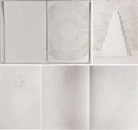 Livre Illustré Pagava - Pierre Lecuire : POÈMES MÉTAPHYSIQUES. 7 pointes sèches de Véra Pagava (1979) (1975)