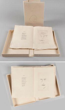 Livre Illustré Aguayo  - Pierre Lecuire : SONNETS FUNÈBRES. 12 gravures de Femin Aguayo (1975)