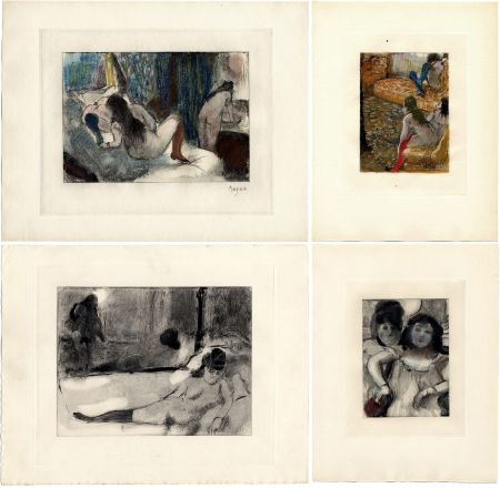 Livre Illustré Degas - Pierre Louys : MIMES DES COURTISANES (Vollard, Paris 1935)