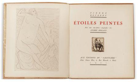 Livre Illustré Derain - Pierre Reverdy :  ÉTOILES PEINTES. Avec une eau-forte originale de André Derain (1921)