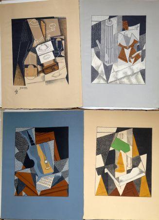 Livre Illustré Gris  - Pierre Reverdy : AU SOLEIL DU PLAFOND. 11 LITHOGRAPHIES COULEURS (1955).