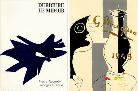 Livre Illustré Braque - PIERRE REVERDY, GEORGES BRAQUE. DERRIÈRE LE MIROIR n° 135-136. Déc.1962-Janv.1963.