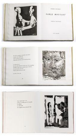 Livre Illustré Picasso - Pierre Reverdy: SABLE MOUVANT. 10 aquatintes originales (1966).