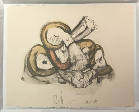 Lithographie Oldenburg - Pile of Erasers