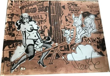 Lithographie Faile - Pin up Black