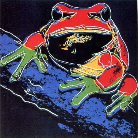 Sérigraphie Warhol - Pine Barrens Tree Frog (FS II.294)