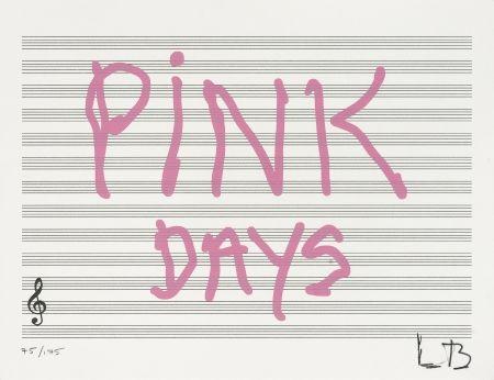 Sérigraphie Bourgeois - Pink Days