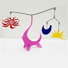 Aucune Technique Calder - Pink Elephant