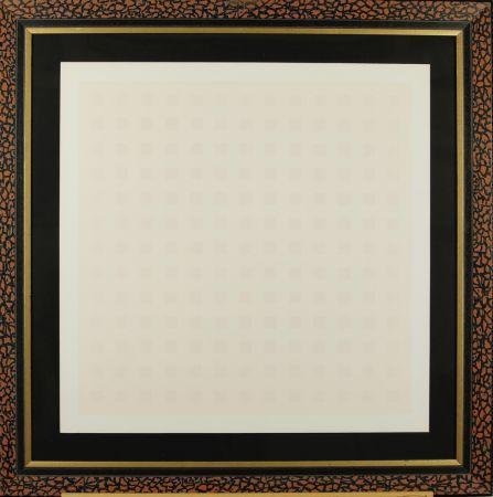 Sérigraphie Calderara - Pink squares