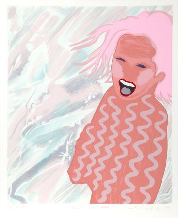 Sérigraphie Kogelnik - Pink Swim