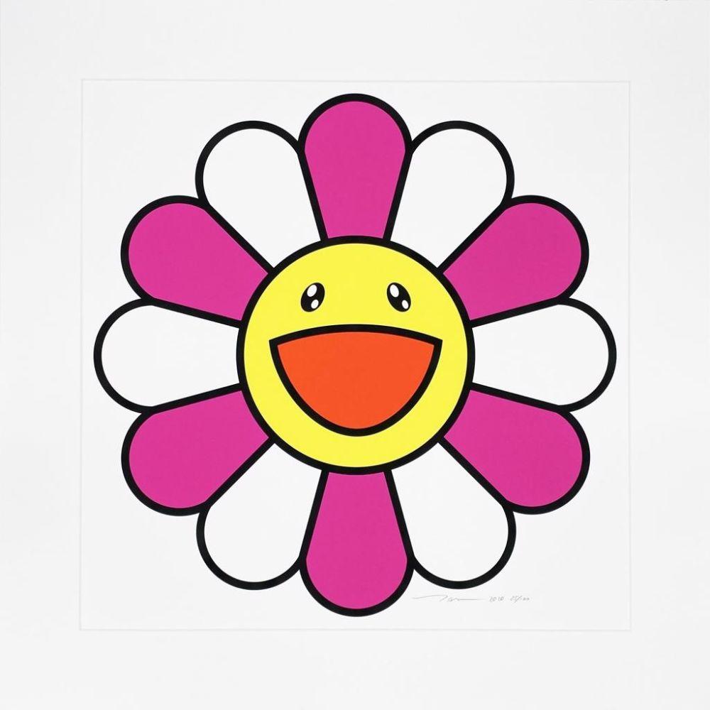 Sérigraphie Murakami - Pinky chan