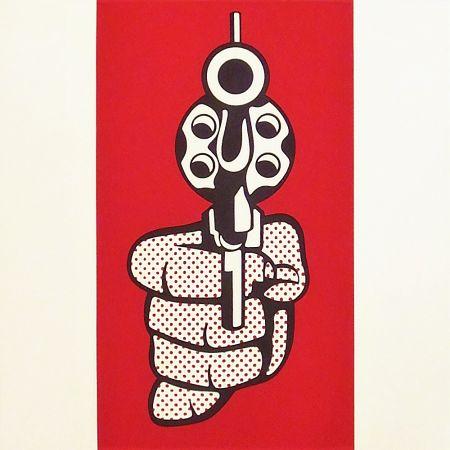 Sérigraphie Lichtenstein - Pistol
