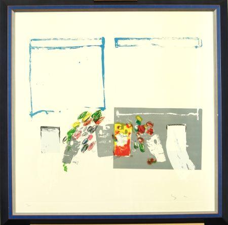 Lithographie Schifano - Pittore Italiano