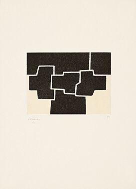 Eau-Forte Et Aquatinte Chillida - Pittsburgh II