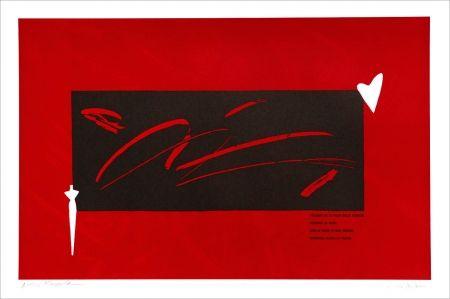Lithographie Kuroda - Placard Kobayashi