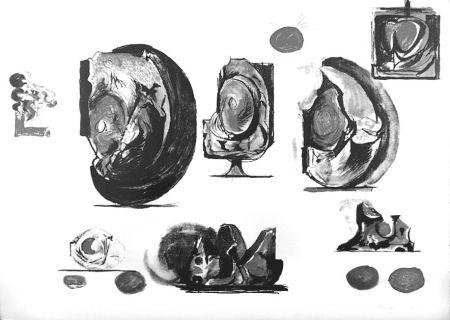 Lithographie Sutherland - Planches d'études