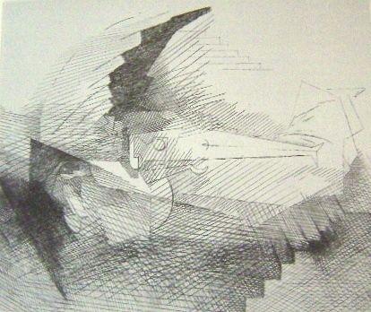 Gravure Marcoussis - Planches de salut, N. 8