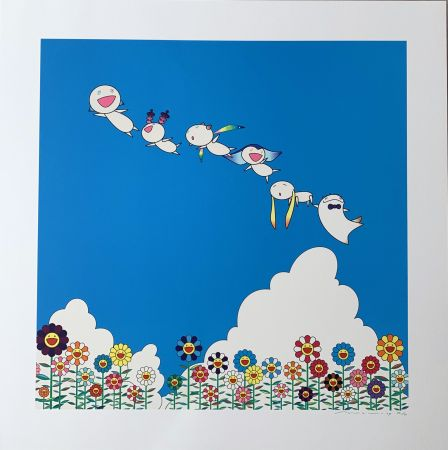 Lithographie Murakami - Planet 66 : Summer Vacation