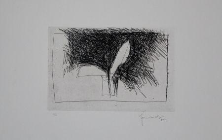 Gravure Hernandez Pijuan - Planta