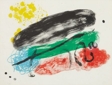 Lithographie Miró - Plate 16, from Album 19