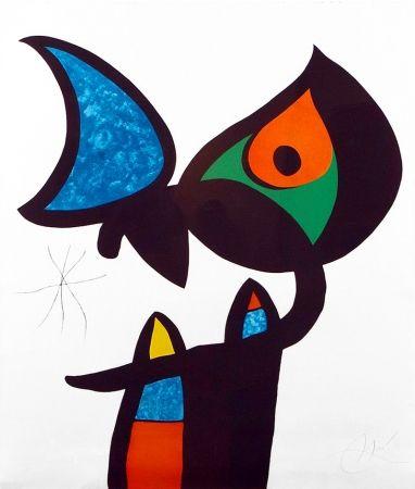 Eau-Forte Et Aquatinte Miró - Plate VI from Espriu – Miró