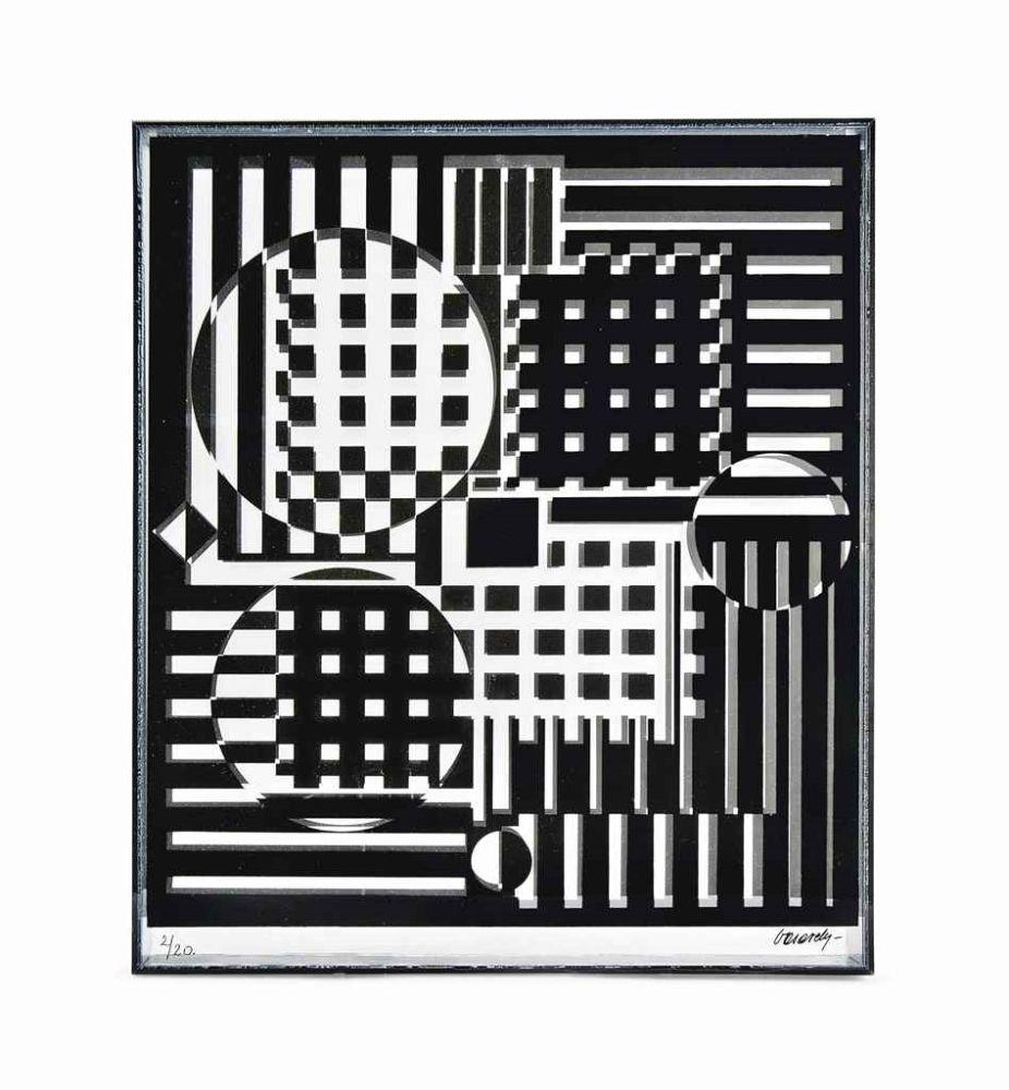 Multiple Vasarely - Pleionne